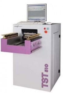 39.自動熱収縮率・熱応力測定装置