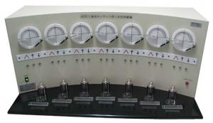 7連式モンサント防しわ性試験機