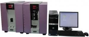 自動単繊維繊度・強伸度・クリンプ試験装置