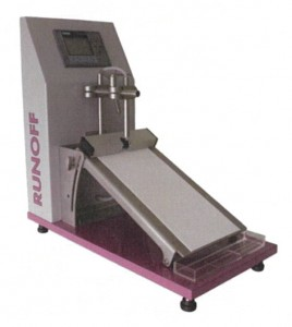 不織布試験装置(流出度試験機)