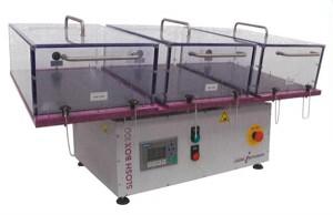 不織布試験装置(衛生材攪拌性)